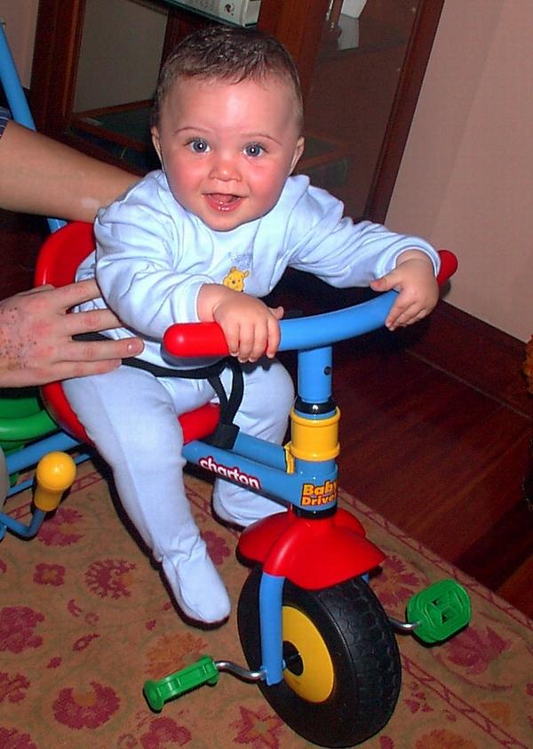 con mi bici!